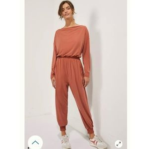 Saturday Sunday Dylan Anthro Cowl Neck Jumpsuit